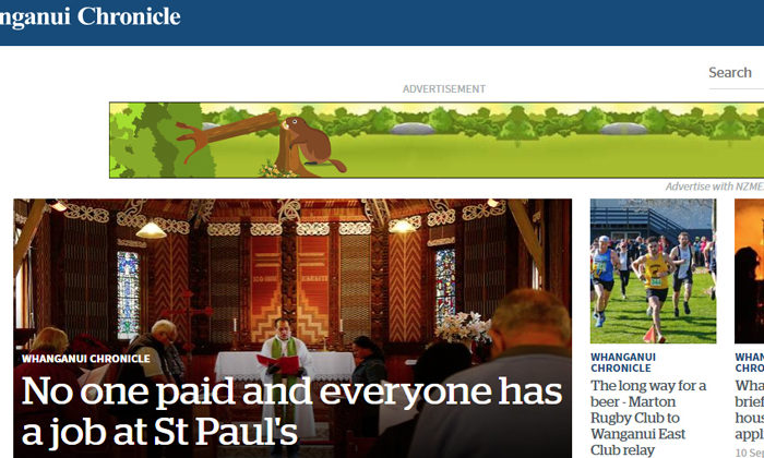 Whanganui Chronicle catches up with name change