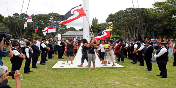 Little embraces Australia in Waitangi message