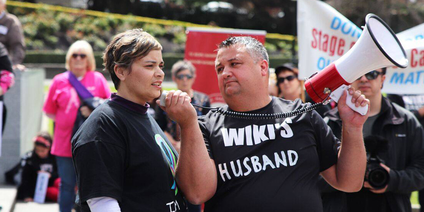 Wāhine march to extend life