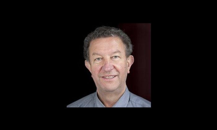 Rotorua Lakes councillor Trevor Maxwell talks with Dale Husband