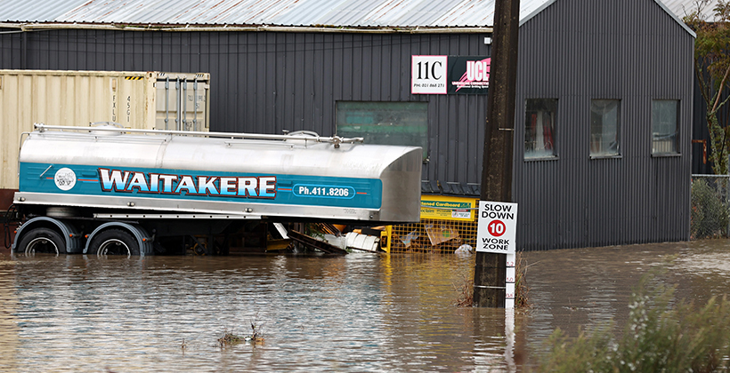 Floods in west raised infrastructure questions