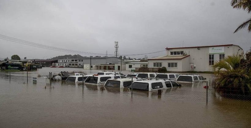 Rewiti Marae surveys flooded northwest