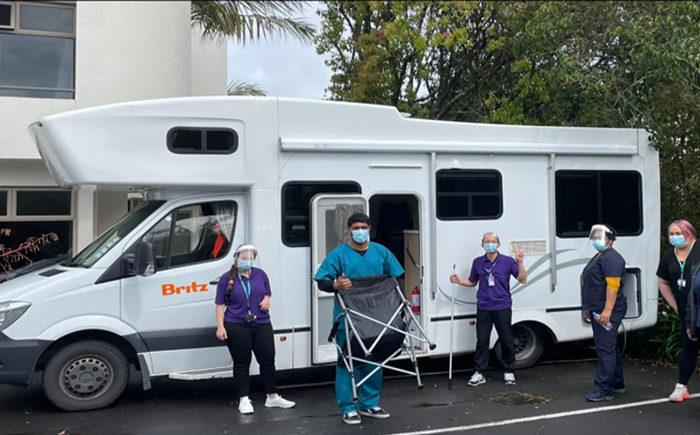 Vax vans proving effective