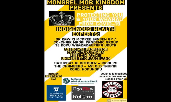 Louise Hutchison   PR person for Waikato Mongrel Mob Kingdom
